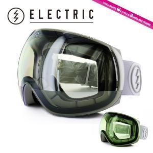 エレクトリック ゴーグル ELECTRIC EG3 WHITE TROPIC CLEAR/SILVER CHROME EG6214104_CSRC アジアンフィット ヘルメット対応 2014・2015モデル スノーボード brand-sunglasshouse