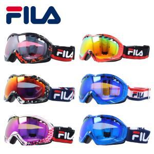 フィラ ゴーグル FILA RAVENNA FLG-7026-5/FLG-7026-6 スキー スノーボード スノボ|brand-sunglasshouse