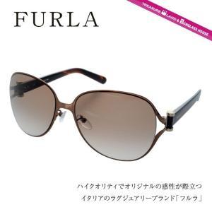 FURLA フルラ サングラス SU4277G 0R80 ゴ...