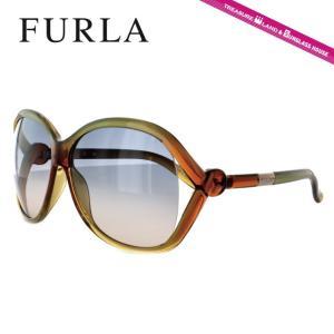 FURLA フルラ サングラス SU4729 0AD8 イエロー/オレンジ/スモークグラデーション メンズ レディース 国内正規品|brand-sunglasshouse