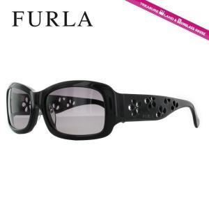 FURLA フルラ サングラス SU4768 0700 ブラック/グレーグラデーション レディース 国内正規品|brand-sunglasshouse