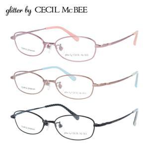 グリッターバイセシルマクビー メガネフレーム 女性 ブランド おしゃれ かわいい glitter by CECIL McBEE GCF 3510 全3カラー 50|サングラスハウス
