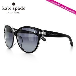 ケイトスペード kate spade サングラス ADA FS PLT/HD 57 ブラッククリスタル アジアンフィット|brand-sunglasshouse