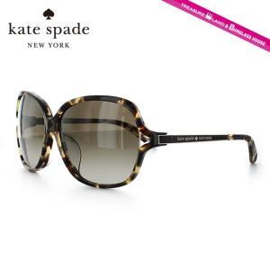 ケイトスペード kate spade サングラス EVETTE FS 9ZT/CC 59 ハバナ/ライトゴールド アジアンフィット|brand-sunglasshouse