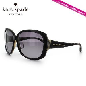ケイトスペード kate spade サングラス SAVINA FS QP1/EU 60 ブラック/ハバナ アジアンフィット|brand-sunglasshouse
