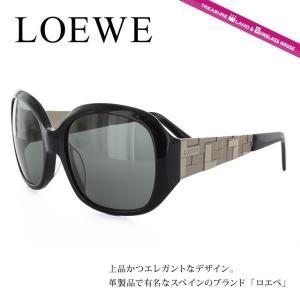 LOEWE ロエベ サングラス SLW663M 0700 ブラック/スモーク メンズ レディース 国内正規品|brand-sunglasshouse