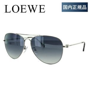 ロエベ LOEWE サングラス SLW478M 0579 60サイズ 調整可能ノーズパッド ミラーレンズ 度付き対応 サングラスハウス