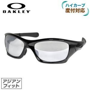 オークリー サングラス アジアンフィット OAKLEY ピットブル PIT BULL oo9161-11 Polished Black/Titanium Clear メンズ レディース スポーツ|brand-sunglasshouse