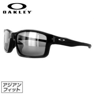 オークリー サングラス アジアンフィット OAKLEY チェーンリンク Chainlink oo9252-01 Polished Black/Black Iridium メンズ レディース スポーツ