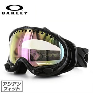 オークリー ゴーグル OAKLEY エーフレーム A Frame 57-816J Highlight Grey / VR50 Pink Iridium アジアンフィット