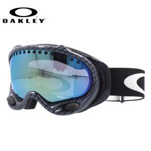 オークリー ゴーグル OAKLEY エーフレーム A Frame 57-295 TRUE Carbon Fiber / Emerald Iridium