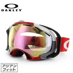 オークリー ゴーグル OAKLEY スプライス 59-229J Splice Block Stripes Red アジアンフィット 2014モデル