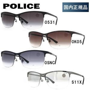 ポリス サングラス 度付き対応 ブランド ブラックバード アジアンフィット POLICE BLACKBIRD SPL746J 全4カラー 59 brand-sunglasshouse