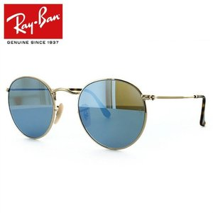 レイバン サングラス Ray-Ban ラウンドメタル RB3447N 001/9O 50 ミラー メンズ レディース 国内正規品