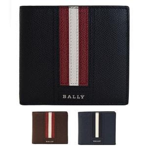 バリー 二つ折り財布 BALLY LETTERING TSP...