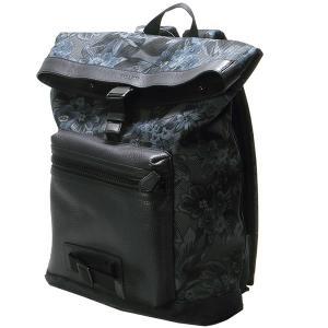 コーチ リュック バッグ アウトレット COACH F56663-M50 ライン エクスプローラー フローラル ハワイアン プリント メンズ  ネイビー