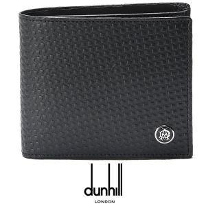 ダンヒル 二つ折り財布 小銭入れ付き dunhill メンズ...