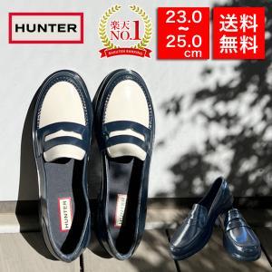 HUNTER ローファー ハンター ORIGINAL PENNY LOAFER 靴 レインシューズ ...