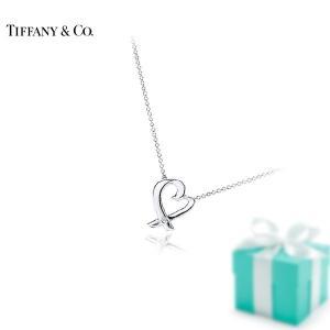 ティファニー TIFFANY&Co. ラヴィングハート1ptダイヤ/16in 25604296  Silver シルバー ネックレス
