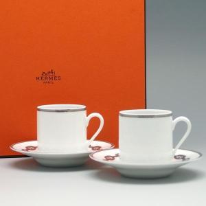 エルメス カップ&ソーサー HERMES COFFE CUP...