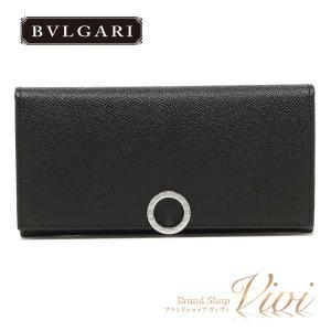 ブランド:ブルガリ BVLGARI 長札(ファスナー付) 品番  :30412 カラー :BLK 素...