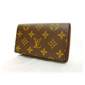 LOUIS VUITTONルイヴィトン財布 モノグラム ファスナー付二つ折り財布  ポルトフォイユ・トレゾール M61736|brand