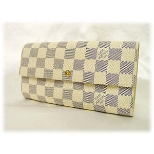 LOUIS VUITTONルイヴィトン財布ダミエ アズール ポシェット・ポルトモネカルトクレディ N61735D|brand