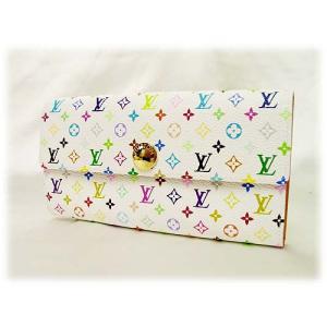 LOUIS VUITTONルイヴィトン財布マルチカラー モノグラム二つ折長財布 M60004|brand