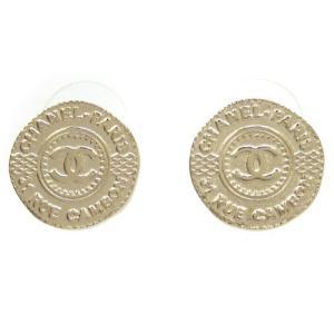シャネルCHANELピアス ココマーク コインモチーフ ピアス A86868 新品 正規品|brand