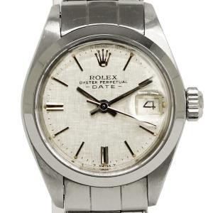 ロレックス オイスターパーペチュアル デイト SS レディース 腕時計 自動巻き シルバー 6916(中古)|brandbrand|02