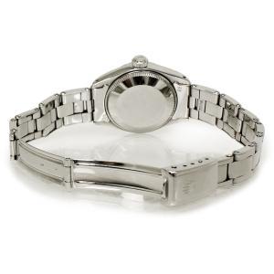 ロレックス オイスターパーペチュアル デイト SS レディース 腕時計 自動巻き シルバー 6916(中古)|brandbrand|05