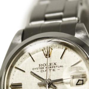 ロレックス オイスターパーペチュアル デイト SS レディース 腕時計 自動巻き シルバー 6916(中古)|brandbrand|09