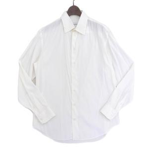 アルマーニ コレツィオーニ メンズ 長袖 シャツ ホワイト sizeM X02187