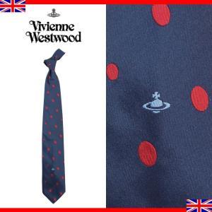 ヴィヴィアンウエストウッド ネクタイ レギュラータイ ドット シルク Vivienne Westwood 003 0 001|brandcojp