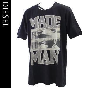 ディーゼル メンズ半袖Tシャツ DIESEL カジュアルTシャツ 丸首 T-COLORADO-RS T-SHIRT 00S10K-00DFM-900|brandcojp