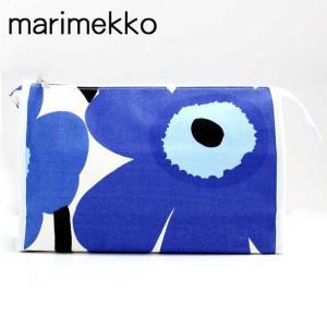 マリメッコ marimekko キャンバスポーチ MEDIA MARKIISI UNIKKO(ウニッコ) 021227 017|brandcojp
