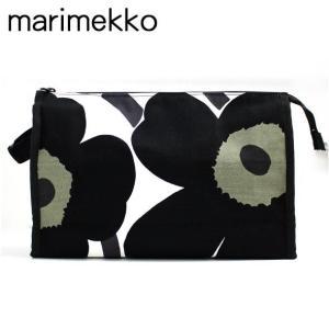 マリメッコ marimekko キャンバスポーチ MEDIA MARKIISI UNIKKO(ウニッコ) 021227 030|brandcojp