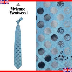 ヴィヴィアンウエストウッド ネクタイ レギュラータイ ドット ロゴ シルク Vivienne Westwood 103 0231 003|brandcojp