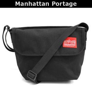 マンハッタンポーテージ Manhattan Portage メッセンジャーバッグ 斜めがけバッグ ショルダーバッグ 斜め掛け ななめがけ NYLON MESSENGER BAG (XXS) 1603 BLK|brandcojp