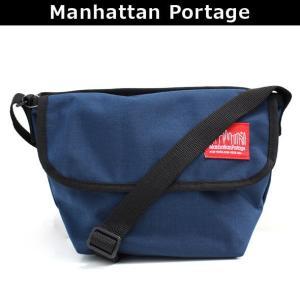 マンハッタンポーテージ Manhattan Portage メッセンジャーバッグ 斜めがけバッグ ショルダーバッグ 斜め掛け ななめがけ NYLON MESSENGER BAG (XXS) 1603 NVY|brandcojp