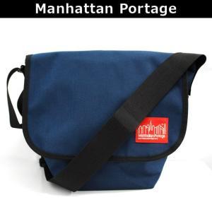 マンハッタンポーテージ Manhattan Portage メッセンジャーバッグ 斜めがけバッグ ショルダーバッグ 斜め掛け ななめがけ NYLON MESSENGER BAG JR(SM) 1605 NVY|brandcojp