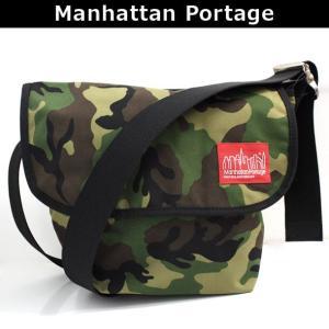 マンハッタンポーテージ Manhattan Portage メッセンジャーバッグ 斜めがけバッグ ショルダーバッグ 斜め掛け ななめがけ VINTAGE MESSENGER BAG (SM) 1605V CAM|brandcojp