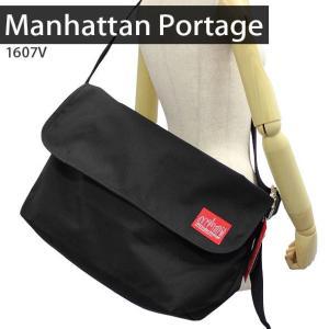 マンハッタンポーテージ Manhattan Portage メッセンジャーバッグ 斜めがけバッグ ショルダーバッグ VINTAGE MESSENGER BAG (LG) 1607V|brandcojp