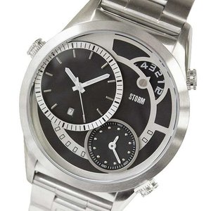 ストーム 腕時計 STORM メンズアナログ腕時計 メンズウォッチ SATURN BLACK 正規代理店商品 4662BK brandcojp
