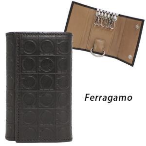 フェラガモ 6連キーケース Ferragamo 66 940...