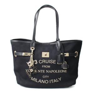 ヴィセッタンタトレ V73 チャーム&ポーチ付きトートバッグ Cruise Montenapoleone SMALL 7352-001|brandcojp