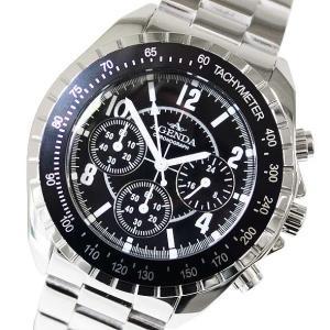 アジェンダ AGENDA メンズアナログ腕時計 メンズウォッチ クロノグラフ クォーツ AG-8041-05(半額以下) brandcojp