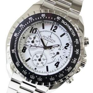 アジェンダ AGENDA メンズアナログ腕時計 メンズウォッチ クロノグラフ クォーツ AG-8041-06(半額以下) brandcojp