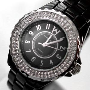 ダブルウォッチーズ レディースアナログ腕時計 ウォッチ クォーツ セラミック DOUBLE WATCHES DSB7323805|brandcojp