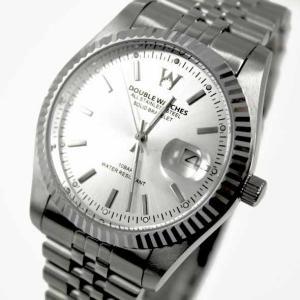 ダブルウォッチーズ DOUBLE WATCHES メンズアナログ腕時計 ウォッチ クォーツ DSK832402|brandcojp